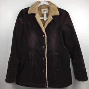Old Navy Corduroy Sherpa Lined Jacket